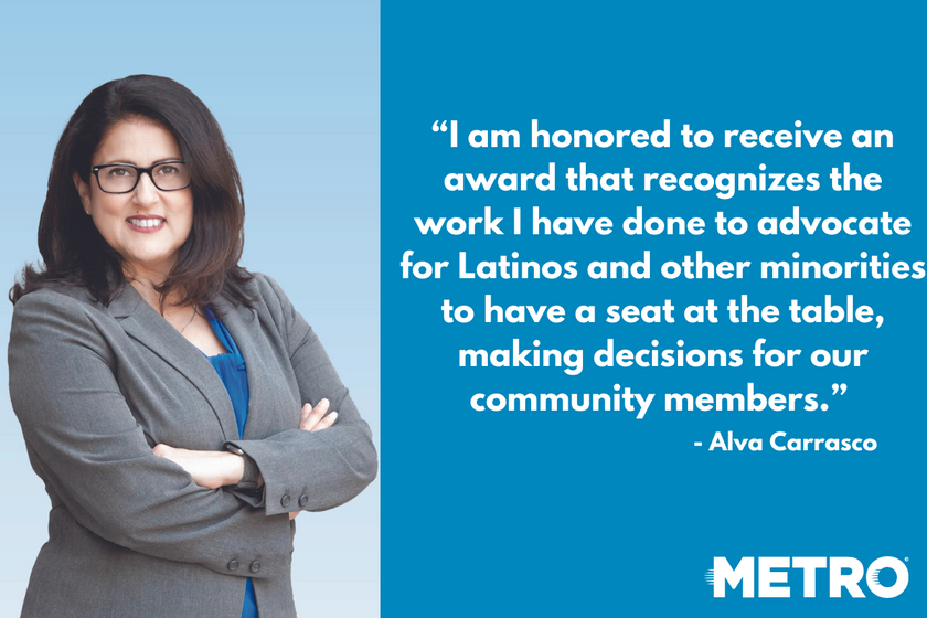 Alva Carrasco has over 28 years of experience working in the public transit sector, including VP...