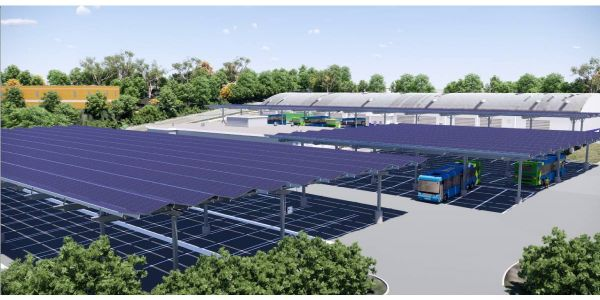 The Brookville Smart Energy Bus Depot supports the sustainability, electrification, and climate...