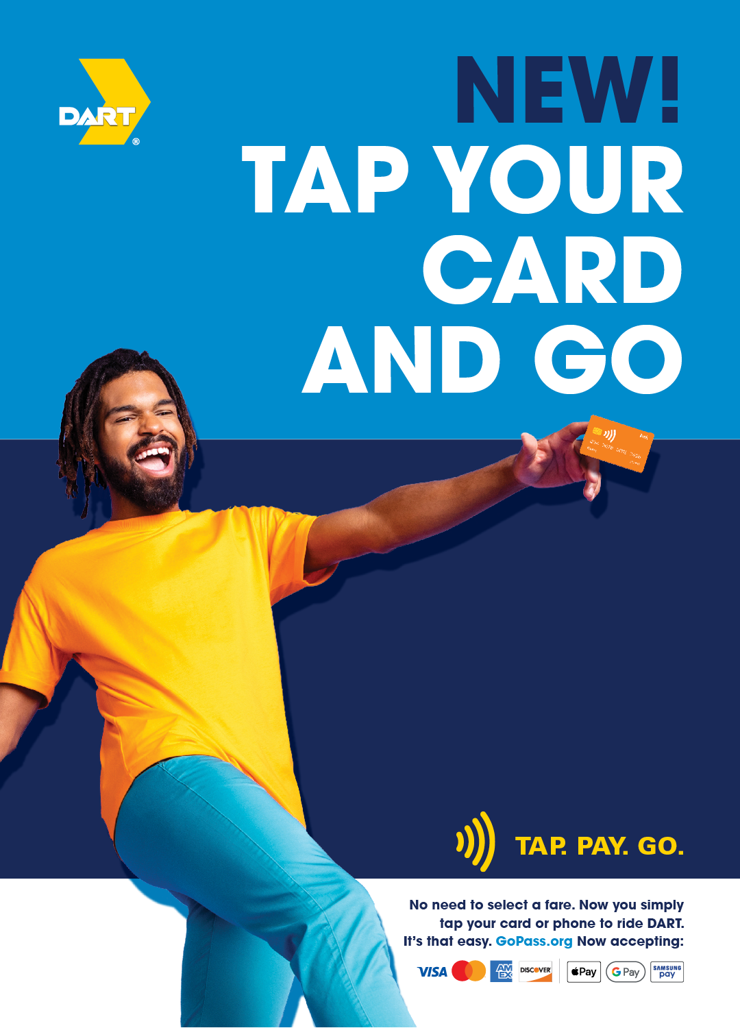 DART Adds Contactless Fare Payment