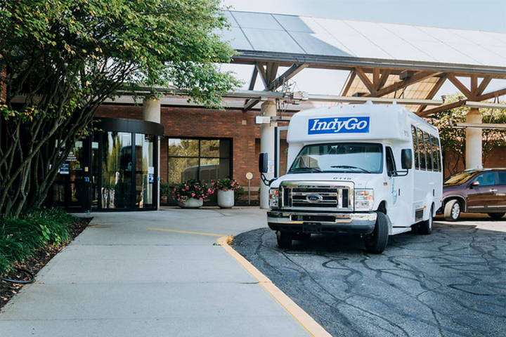 IndyGo specializes in connecting the community to economic and cultural opportunities through increased safe, reliable, and accessible mobility experiences. - Photo: IndyGo