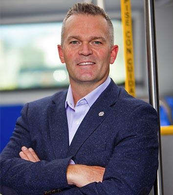 Ensign Named President of Proterra Transit