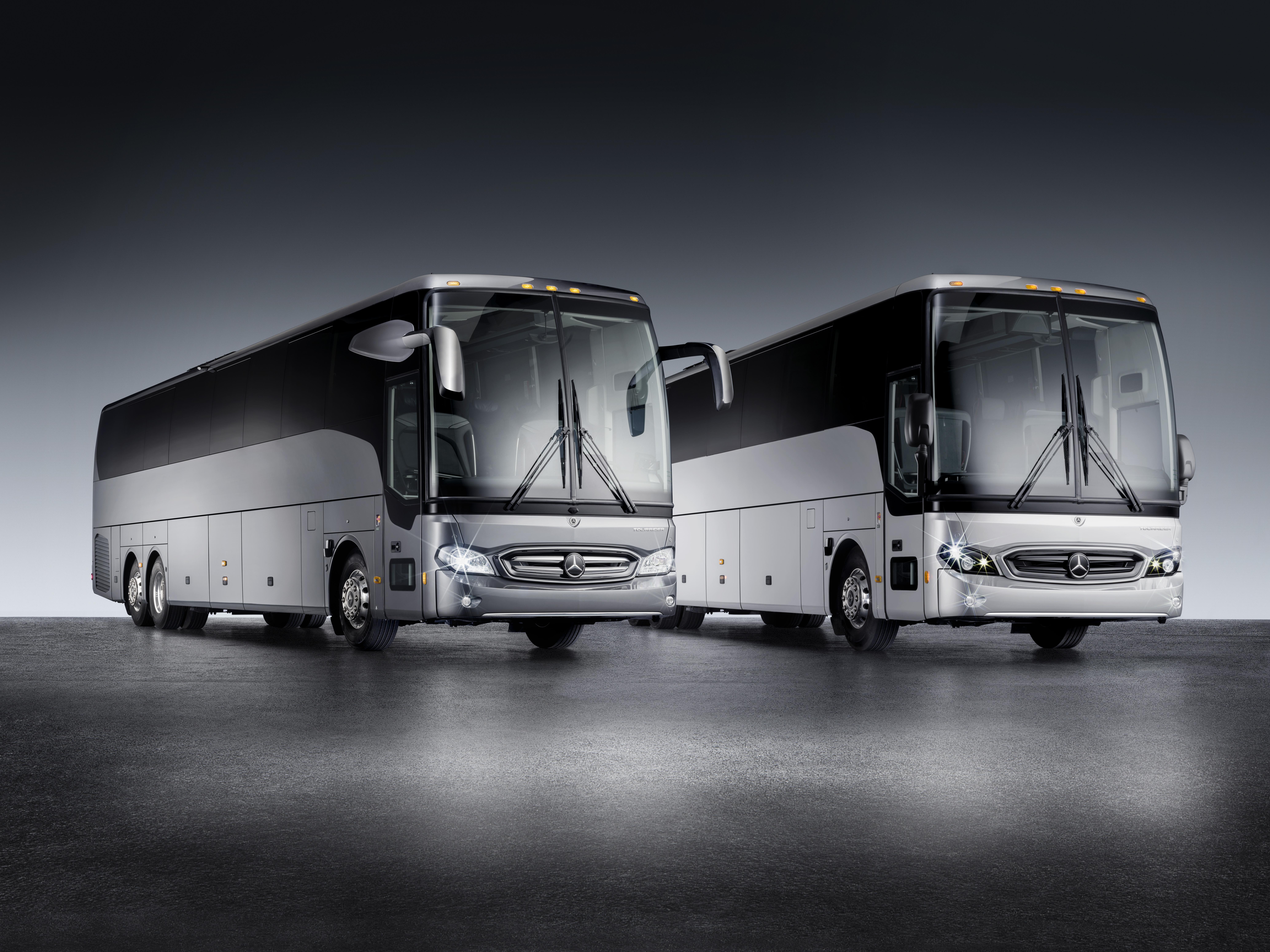 Mercedes-Benz Unveils Tourrider Coach