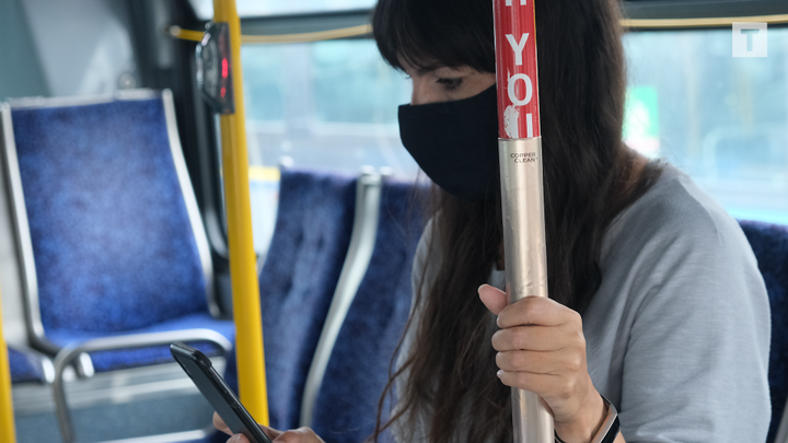The results of this trial could improve understanding of options for infection prevention for the transit industry and other industries that rely on shared public spaces, according to the agencies. - TransLink