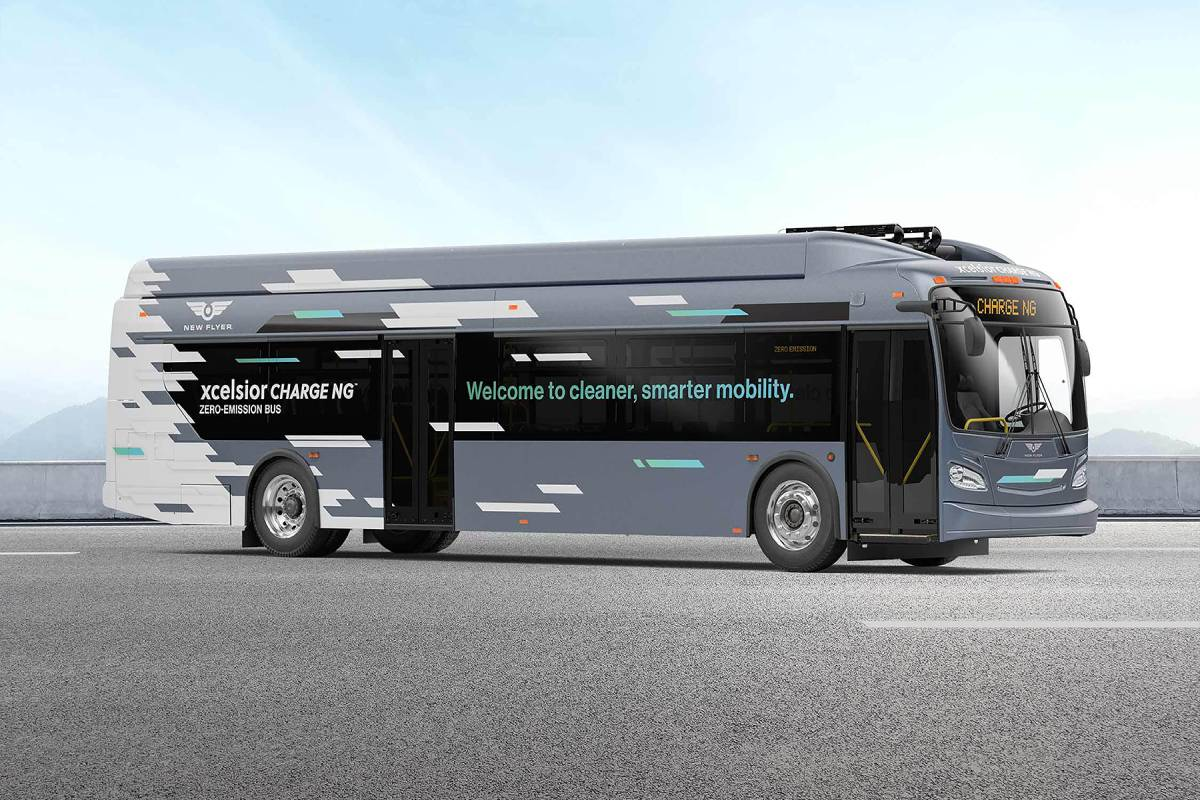 NFI Announces Order for 19 Battery-Electric Transit Buses