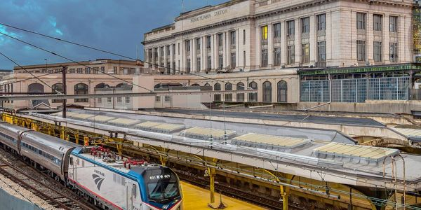 Penn Station serves as the primary transportation hub in Baltimore.