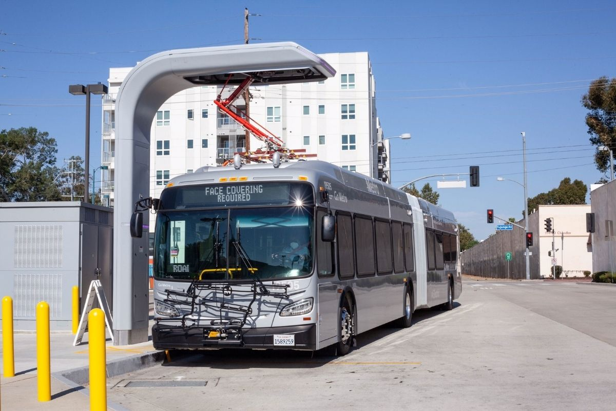 L.A. Metro Now Running all Zero-Emission Buses on the G (Orange) Line