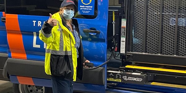 As part of this contract, Transdev is operating TriMet's fleet of 226 paratransit vehicles with...