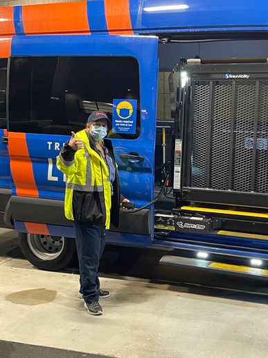 As part of this contract, Transdev is operating TriMet's fleet of 226 paratransit vehicles with more than 200 employees. - Transdev