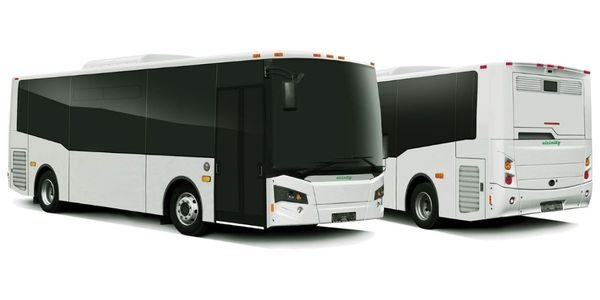 TheVicinity LightningEV bus isdesigned to utilize commercially available components and...