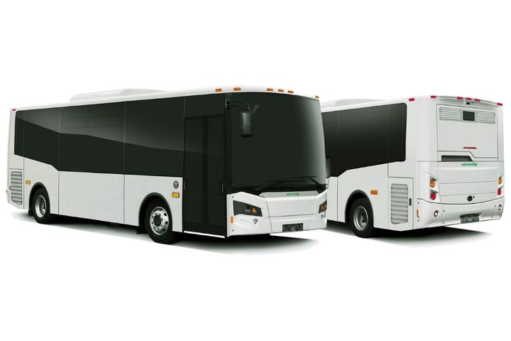 TheVicinity LightningEV bus isdesigned to utilize commercially available components and charging systems. - Photo: Vicinity Motor Corp.