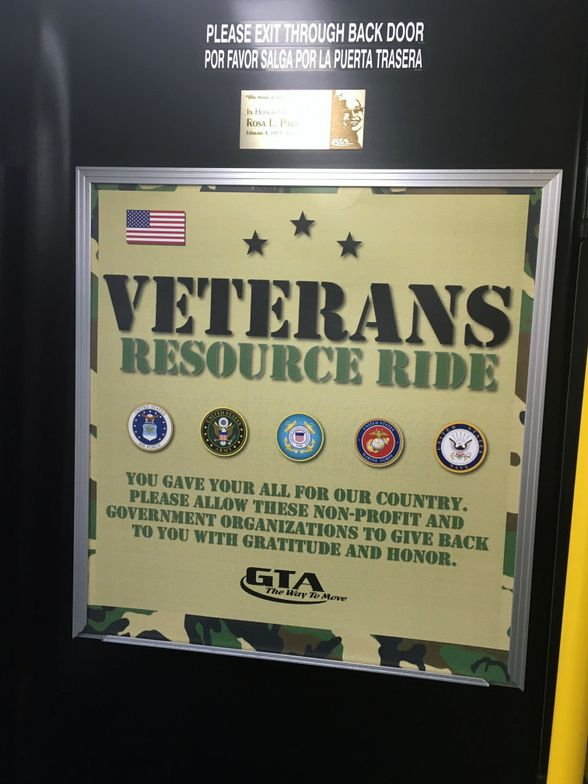 Greensboro Transit Launches Veterans Resource Ride With Community Partners