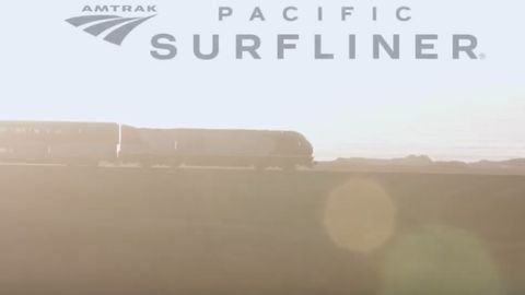 [VIDEO] Amtrak's award-winning Pacific Surfliner 'Hug the Coast' campaign