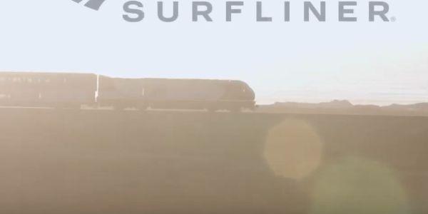 [VIDEO] Amtrak's award-winning Pacific Surfliner 'Hug the Coast' campaign