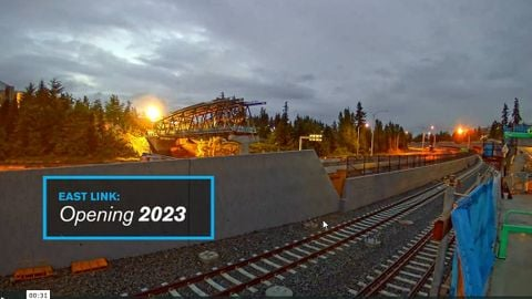 [Video] Sound Transit's placement of pedestrian bridge over SR 520