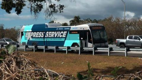 PSTA Unveils Bus On Shoulder Program