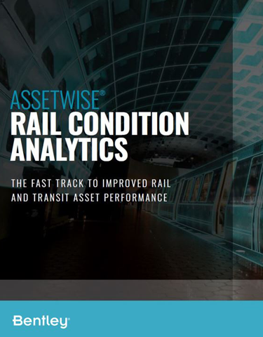 Rapidly Deploy Rail Condition Analytics to Improve Rail and Transit Maintenance