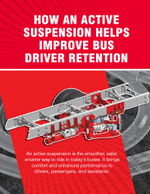 How an Active Suspension Helps Improve Bus Driver Retention