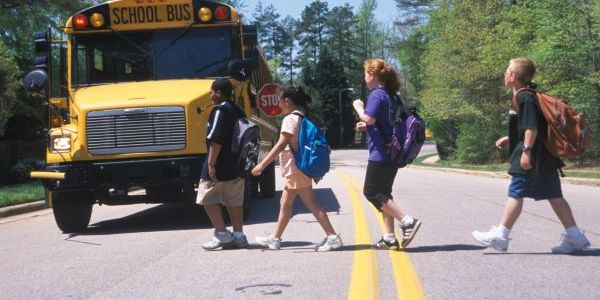 Students must understand the entire process of crossing safety, including stopping to look...