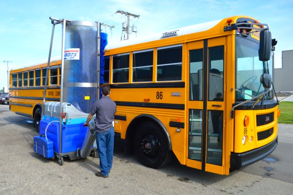 5 Bus Wash Systems Offering Greater Efficiency