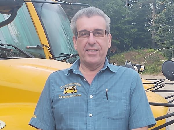Marc Raposo says that the inability to host in-person training has been a hurdle, but the New Hampshire School Transportation Association's training committee is working on alternate solutions. - Photo courtesy Marc Raposo