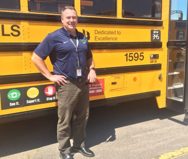 Gary Thompson, Cherry Creek School District's director of transportation, says that during the first week of in-person instruction in mid-August, using a phased approach to bring students in some grades back to school per day was helpful. - Photo courtesy Gary Thompson