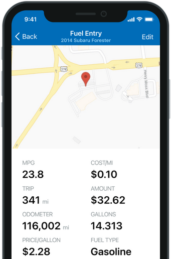 The Fleetio Go app can help drivers capture fuel island transactions in real time and back office staff run fuel reports from any location. - Photo courtesy Fleetio