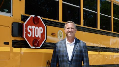 School Bus Fleet's Contractor of the Year Paul Vellani says one of the best parts of his job is...