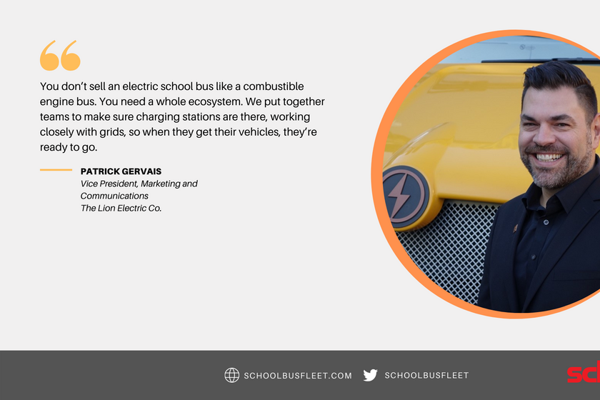 Electric School Bus Roundtable: Patrick Gervais (The Lion Electric Co.)
