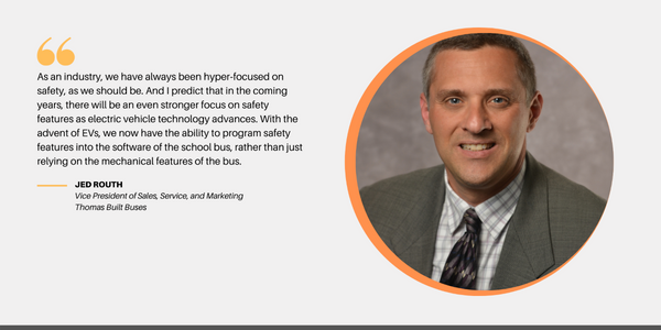 Electric School Bus Roundtable: Jed Routh (Thomas Built Buses)