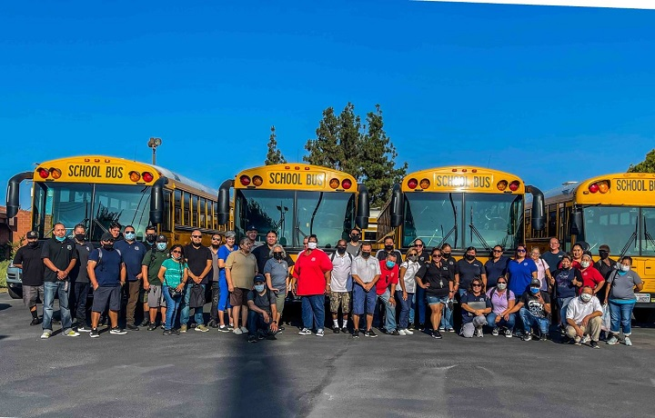 6 Families Behind the Wheel of the Yellow Bus