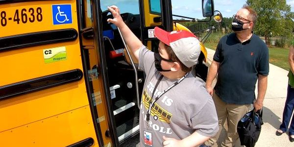 Student Jack Kendrick advocated for his school to add a propane bus to its fleet. He ended up...