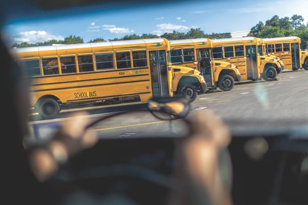 With propane-powered buses, transportation directors can secure a fuel contract, customize an affordable refueling solution, and still focus on reducing emissions. - Photo courtesy Propane Education and Research Council