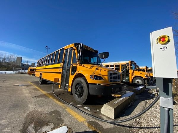 With already constrained budgets, it's important to arm school districts with the insight they need to make smart and strategic electrification investments. - Photo courtesy Jo Mathis, Ann Arbor (Mich.) Public Schools District News
