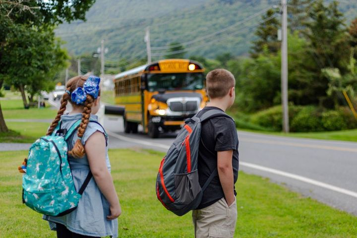 Radio-frequency identification (RFID) lets transportation providers and school districts track when and where students get on or off the bus. - Photo courtesy Elatec Inc.