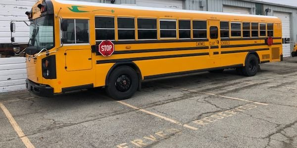 Carmel Clay Schools in Indiana adds a Blue Bird electric bus to its fleet as part of a pilot and...