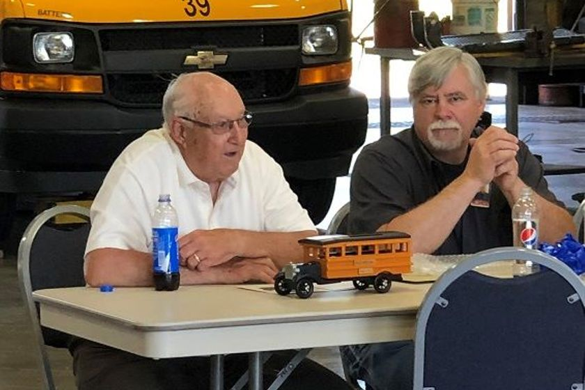 Marty Maier, the head mechanic at Hilton (N.Y.) Central School District (shown right), has...