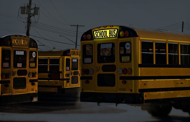 Three Manitoba-area school divisions will add First Light's Illuminated School Bus Sign to their buses. - Photo courtesy First Light