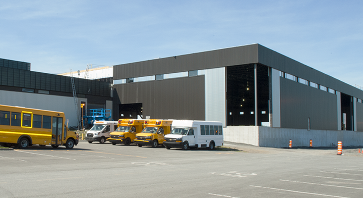 Micro Bird has invested in a 115,000 square foot expansion to help expedite bus production and reduce its carbon footprint. - Photo courtesy Micro Bird