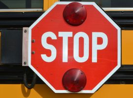 A new Florida law doubles penalties on motorists who illegally pass a school bus with its stop arm extended.