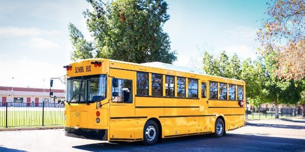 Three California school districts ordered a total of 10 GreenPower Synapse 90 electric school buses.