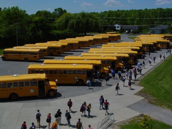 School districts and bus companies focus on social distancing, limiting passengers, PPE, and cleaning and disinfecting plans while awaiting details on school restart. - File photo courtesy Scott Goble