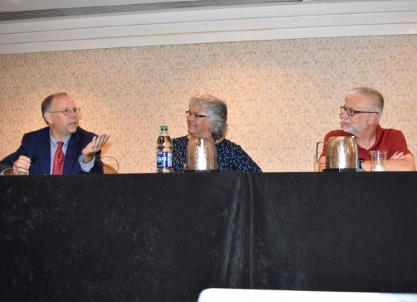 The National Association of State Directors of Pupil Transportation Services annual conference has been postponed to 2021. Shown here is a panel discussion that took place at the association's 2019 conference in Washington, D.C. -