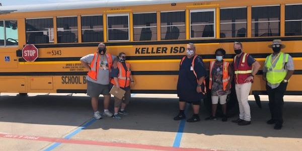 Texas Central School Bus employees began transporting students to school last week.