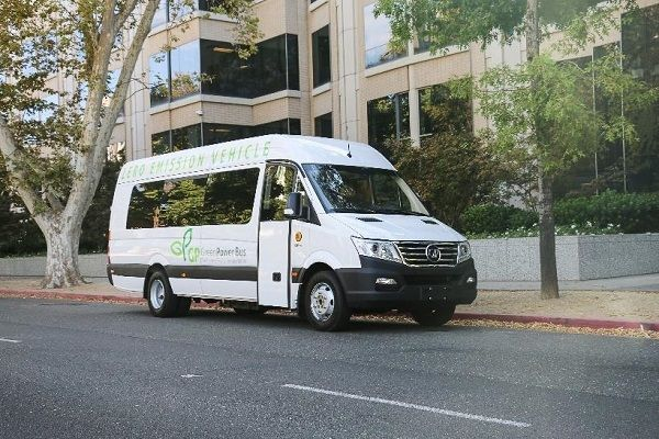 As part of the dealership agreement, ABC Bus will purchase 100 GreenPower Motor Co. vehicles, including two EV Star models(shown here). - Photo courtesy GreenPower Motor Co.
