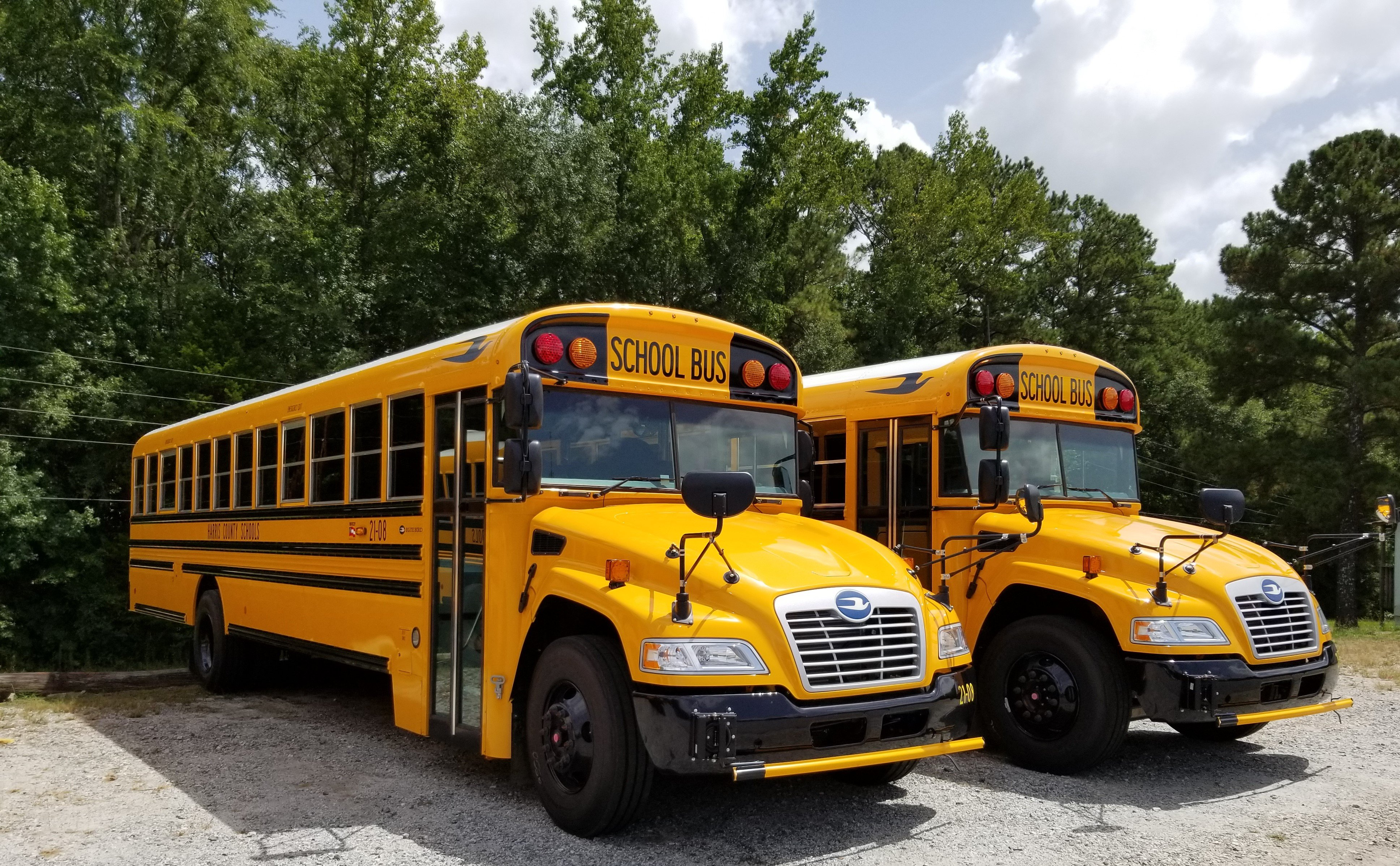 Georgia District Receives 2 New School Buses, Adds Antimicrobial Treatment