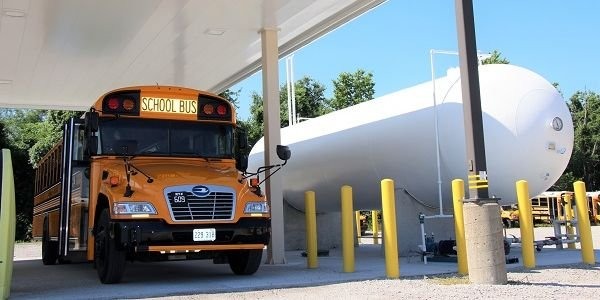 Independence (Mo.) School District anticipates a fuel cost savings of $10,000 within the first...