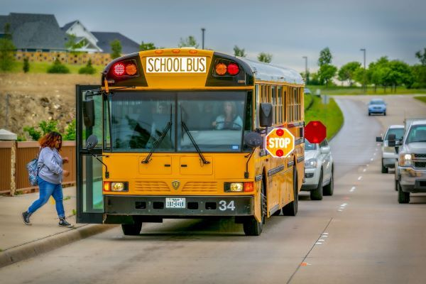 The National Highway Traffic Safety Administration designated October as national Pedestrian Safety Month and will focus on pupil transportation safety during National School Bus Safety Week. - File photo courtesy Mitzi Bowers