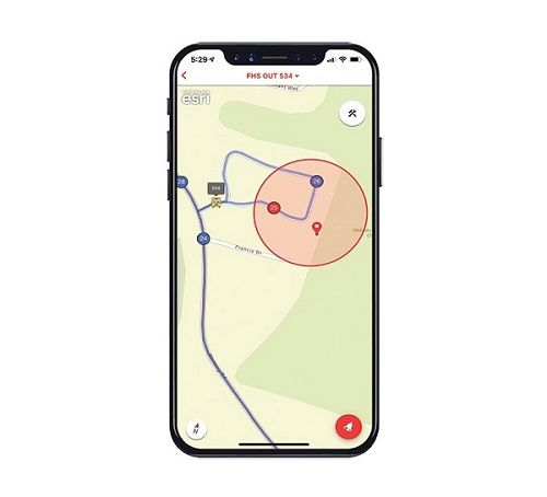 Stopfinder GeoAlerts is an engagement app that informs parents about the location of their child's school bus with real-time data from Transfinder's Routefinder solution. - Photo courtesy Transfinder