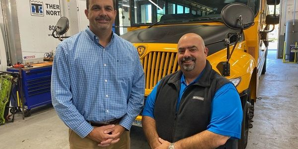 Jim Gallant (right) will assume the role of DATTCO'ssenior vice president of sales and service,...
