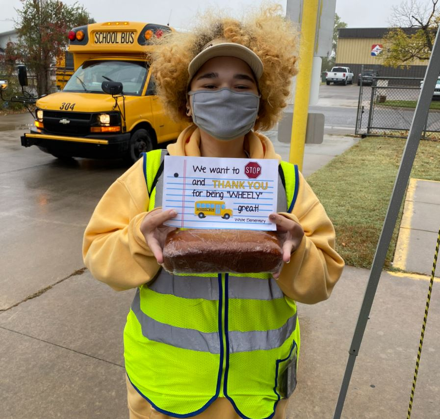 Despite Pandemic, Pupil Transporters Inform, Honor During National School Bus Safety Week